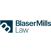 Blaser Mills Law law firm logo